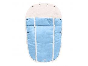 WALLABOO Fusak pro novorozence Nore, blue