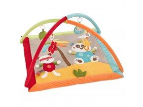 BABY FEHN Jungle hrací deka 3d aktivity