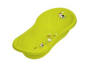 """PRIMA BABY Dětská vanička 100cm """"FunnyFarm"""", zelená"""