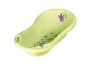 PRIMA BABY Dětská vanička Hippo 84 cm, zelená