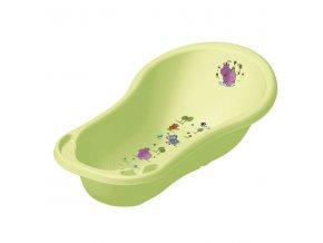 PRIMA BABY Dětská vanička Hippo 100 cm, zelená