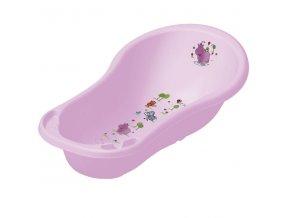 PRIMA BABY Dětská vanička Hippo 100 cm, sv.fialová