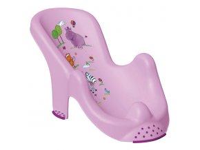 PRIMA BABY Lehátko do vany Hippo, sv.fialová