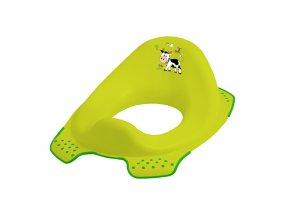 """PRIMA BABY Sedátko na WC """"Funny Farm"""", zelená"""