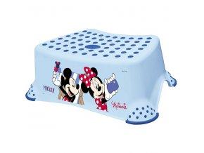 """PRIMA BABY Stupínek k WC/umyvadlu """"Mickey&Minnie"""", modrá"""