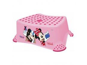 "PRIMA BABY Stupínek k WC/umyvadlu ""Mickey&Minnie"", růžová"