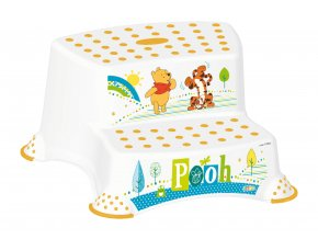 "PRIMA BABY Dvojstupínek k WC/umyvadlu ""Winnie Pooh"", bílá"