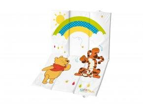 """PRIMA BABY Cestovní přebalovací podložka """"Winnie Pooh"""", bílá"""
