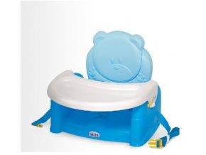 WEINA židlička ke stolu TEDDY BEAR, modrá