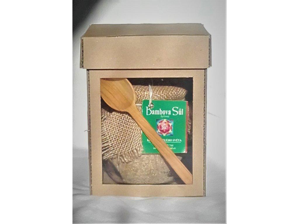 Bambova sůl - Velké dárkové balení