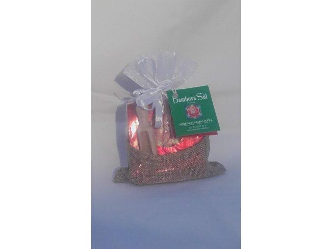 Bambova sůl - Vánoční balení sáček