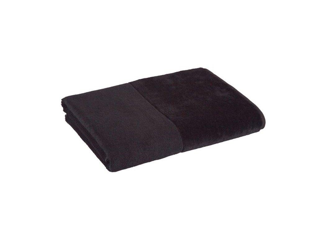 černý bambusový ručník 1