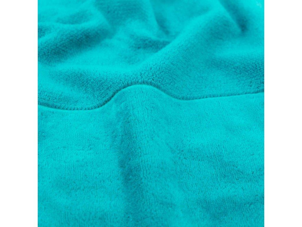 tyrkysový bambusový ručník 2