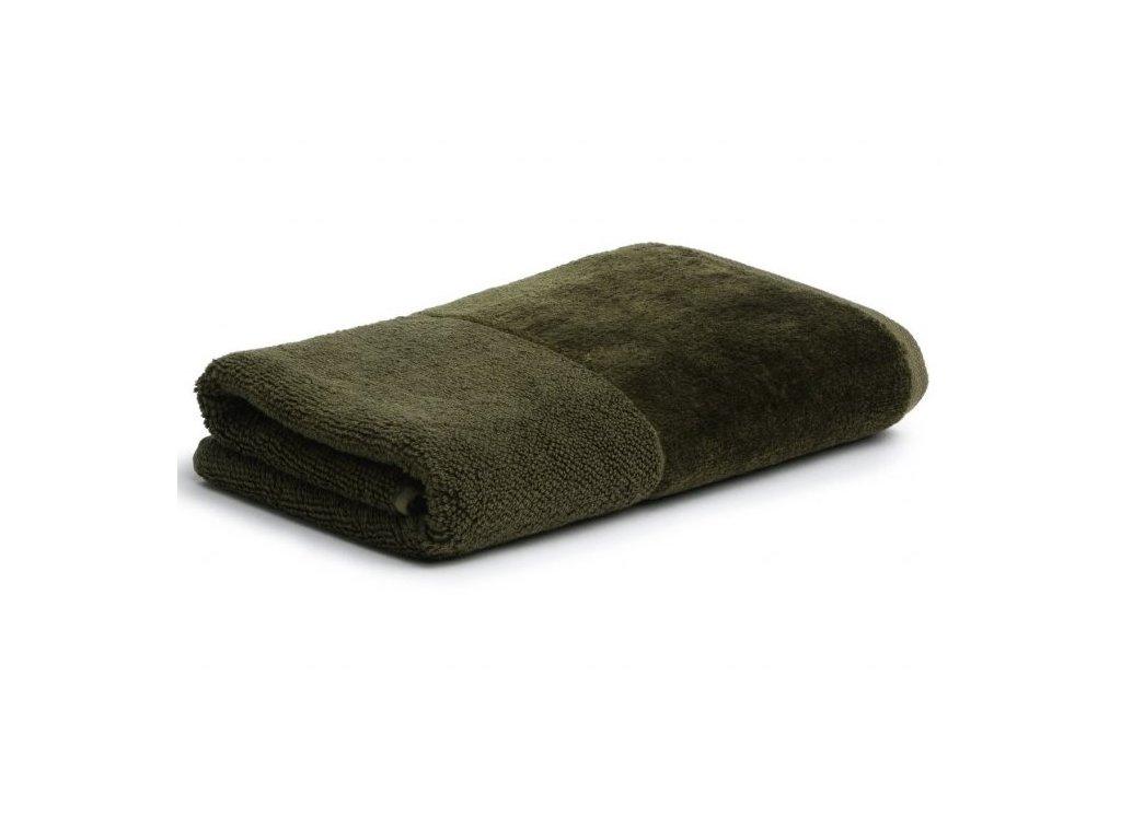 Möve - bambusový ručník zelený