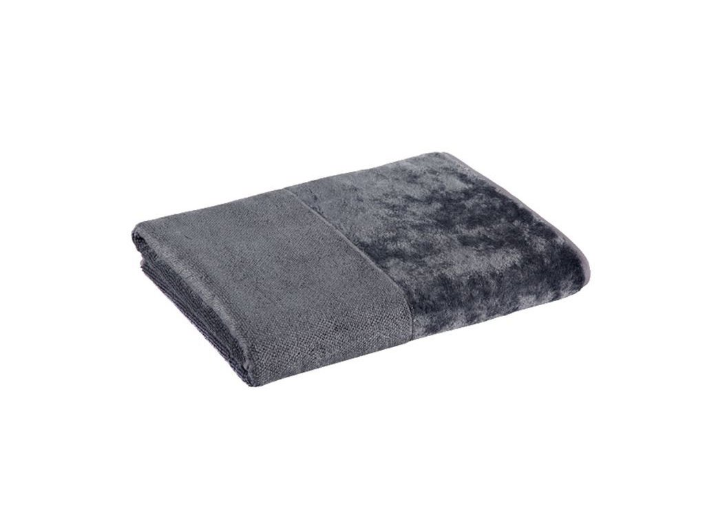 šedý bambusový ručník 2