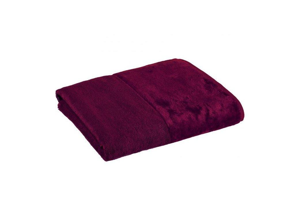 vínový bambusový ručník 1