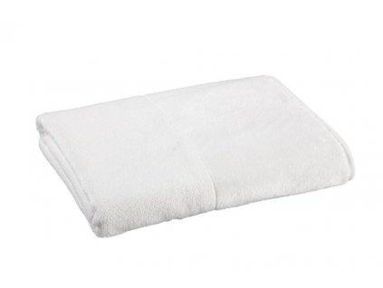 bílý bambusový ručník 1