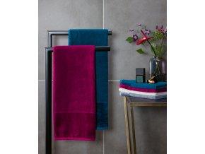 Möve - bambusový ručník modrý