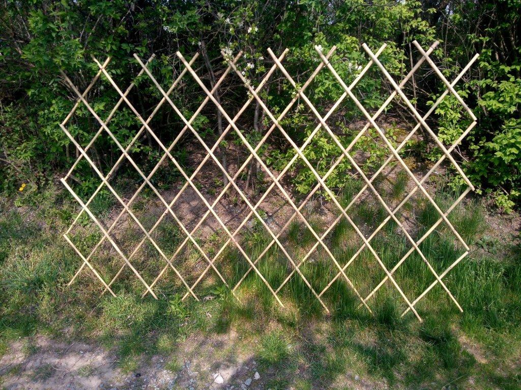 Bambusová opora pro popínavé rostliny 180x180cm