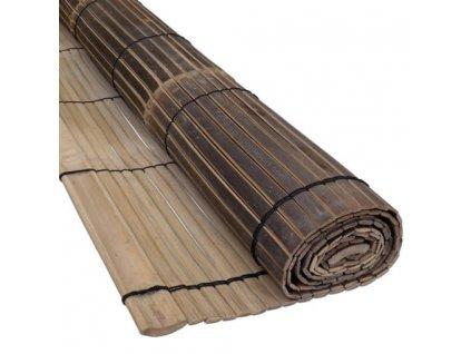 bamboo blind black 200x200cm