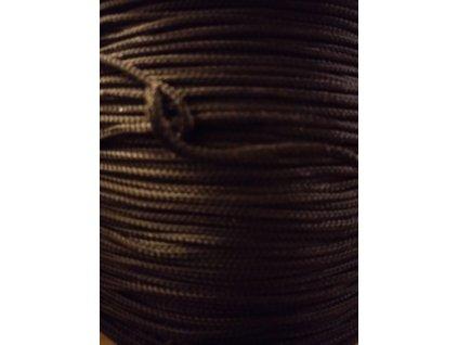 Černý PAD provaz 2mm