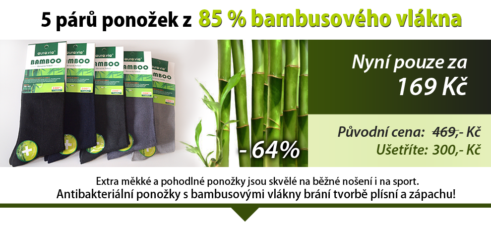 bambus ponozky