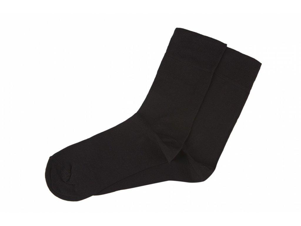 Černé Classic - Bambusové ponožky - 1 pár