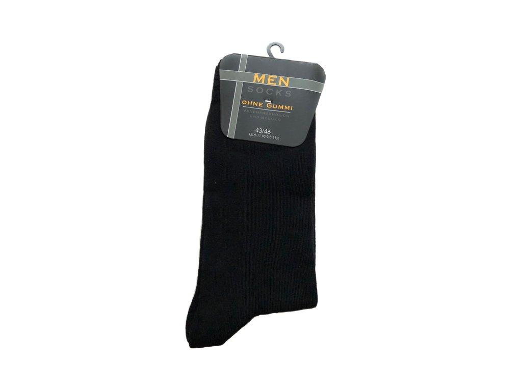 Černé Classic - Bavlněné ponožky - 5 párů vel. 39-42