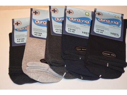 Bavlněné zdravotní ponožky mix barev 5 párů