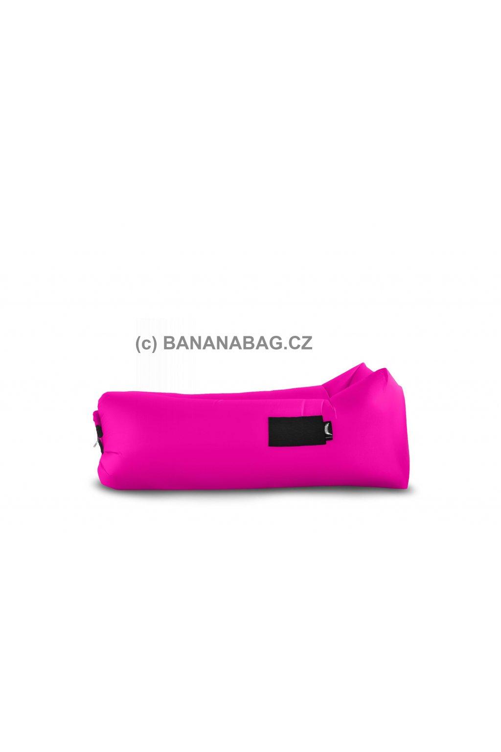 Lazy bag Bananabag růžová 02