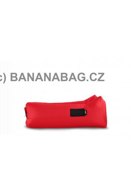 Lazy bag Bananabag červený 02