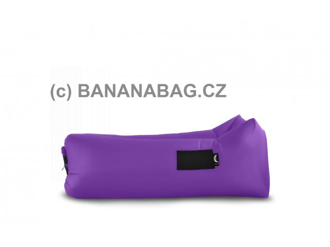 Lazy bag Bananabag fialový 02