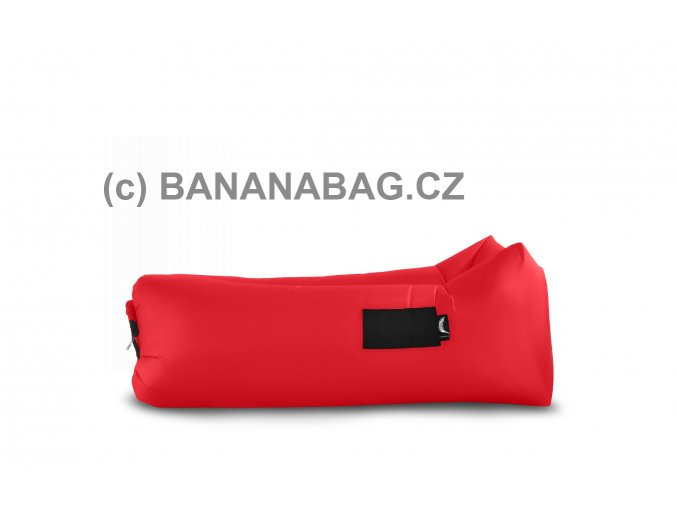 Lazy bag Bananabag červený 02