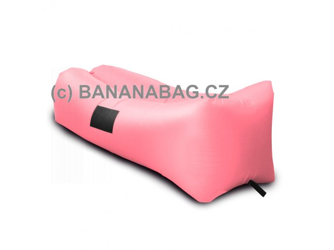 lazy bag bananabag fialovy