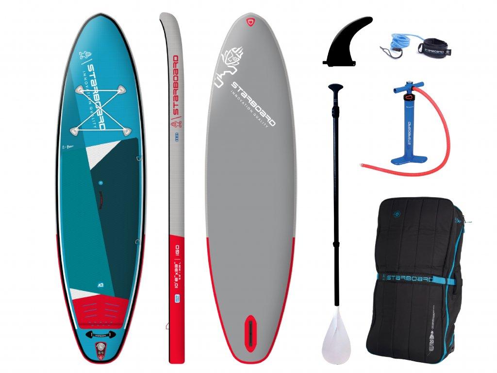 2021 Board 2D Inflatable Set iGO ZSC 2000x1500 10'8 x33 + 3pcs Pad