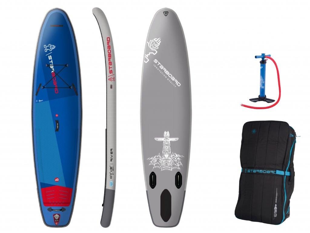 2021 Board 2D Inflatable Set River 2000x1500 10'11 X 31 RIVER D
