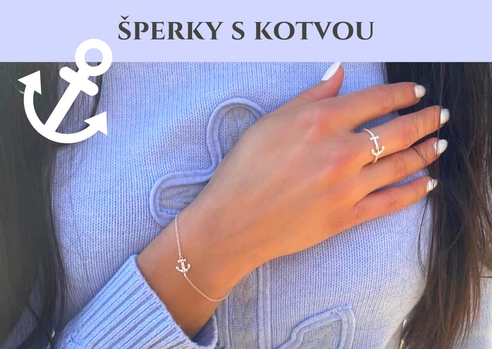 Šperky se symbolem kotvy