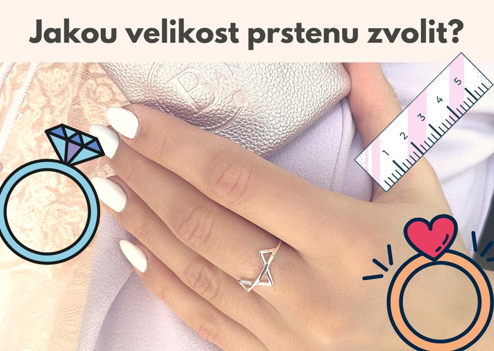 4 tipy, jak změřit velikost prstenu