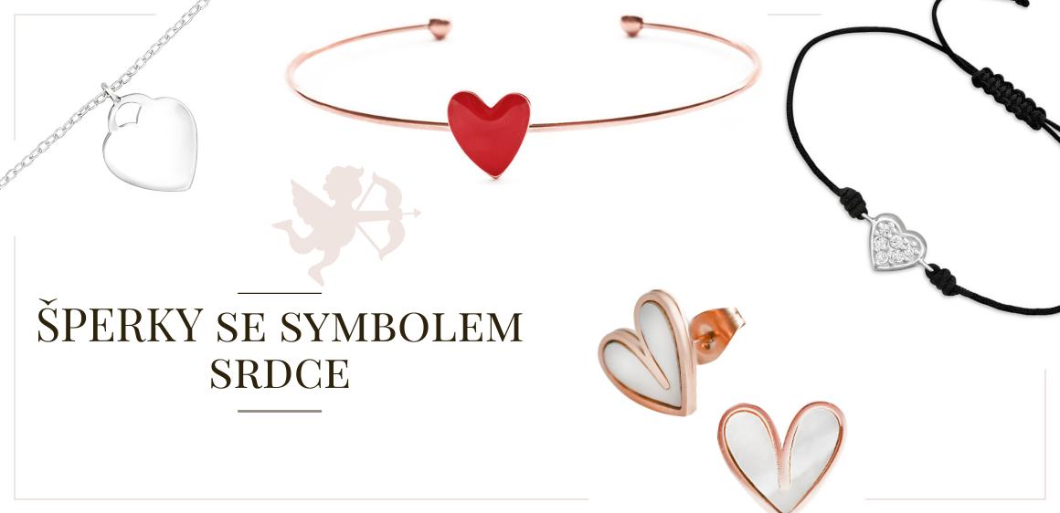 Srdcovky - šperky se symbolem srdce