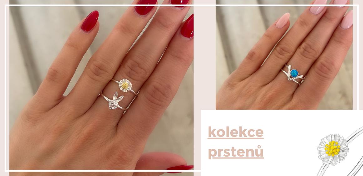Nová kolekce prstenů