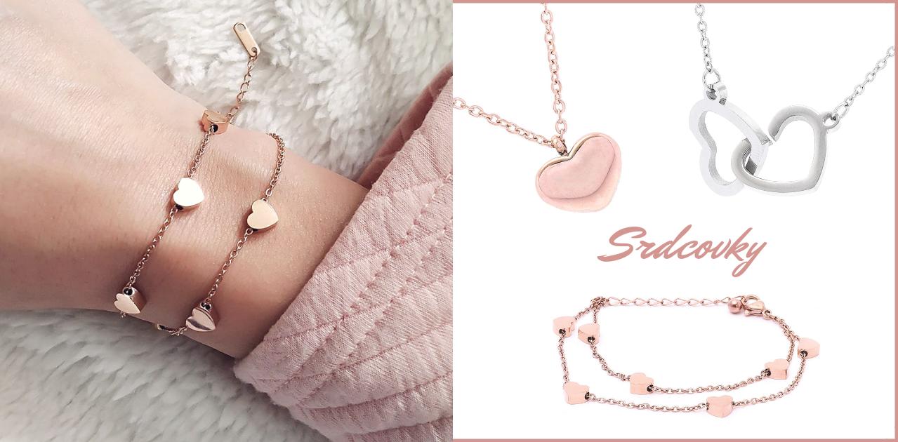 Kolekce zamilovaných šperků