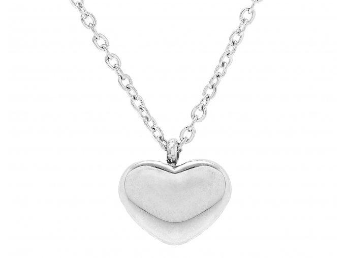 Řetízek Heart silver