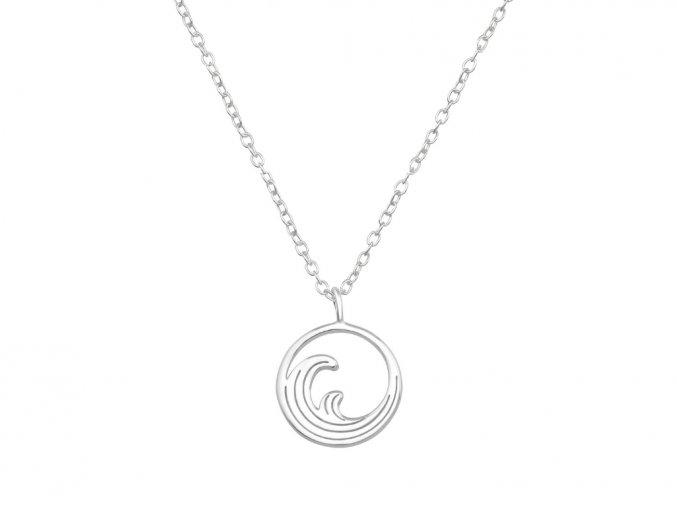 Řetízek Vlny stříbro 925