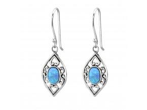Náušnice Azur opálové Bangles