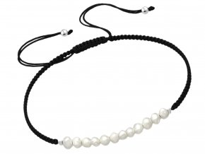 Náramek Fresh Pearls black
