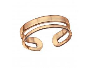 Prsten Line rose gold