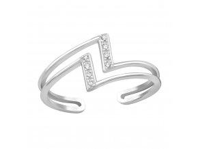 Prsten Flash stříbro