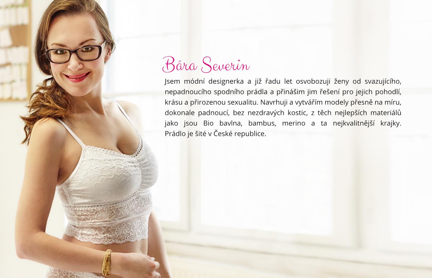 Page Underwear by Bára Severin - designérka spodního prádla