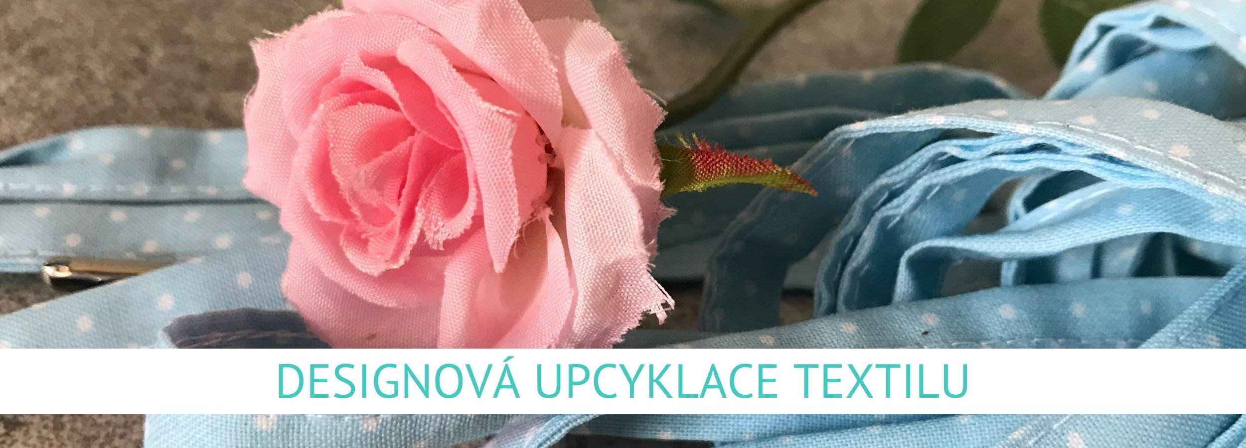 Designová upcyklace textilu