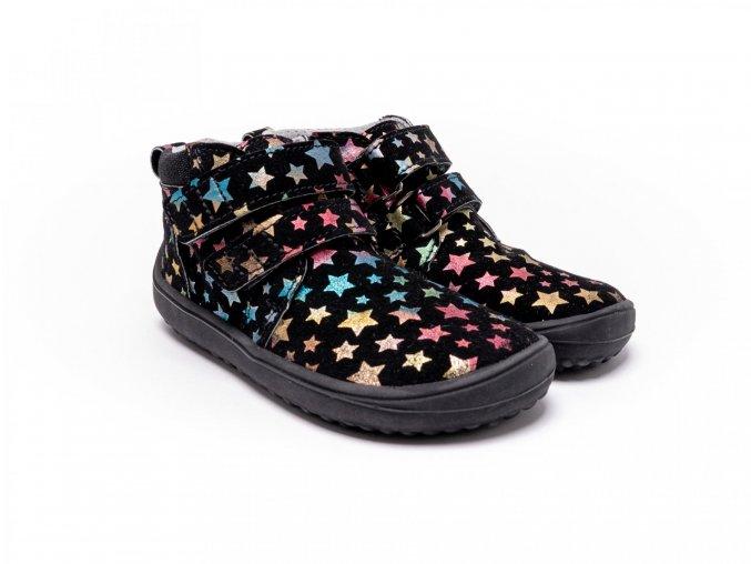detske barefoot topanky play twinkle black 3346 size large v 1